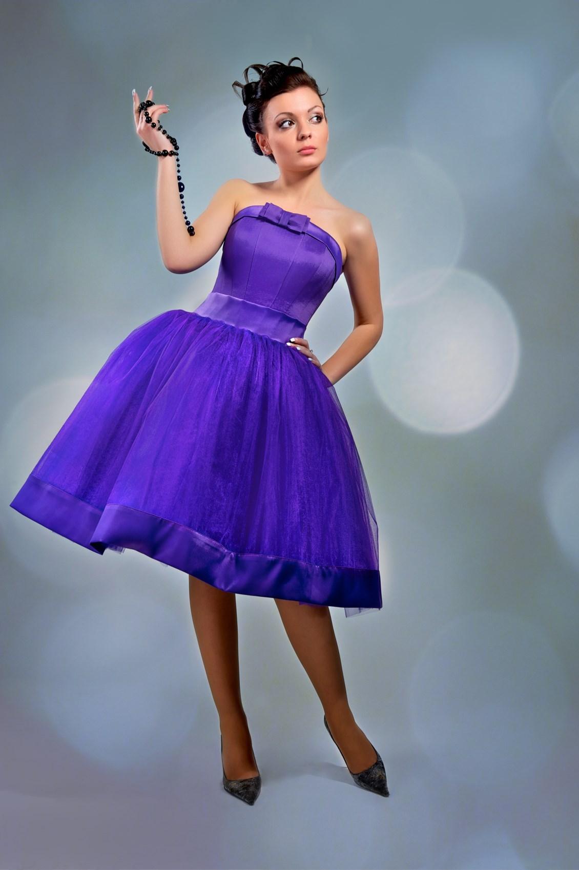 Фото платья на выпускной в стиле стиляги