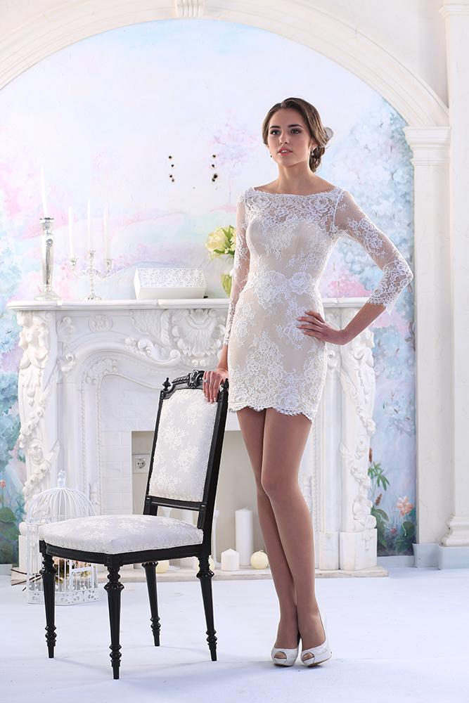 Короткие свадебные платья | Свадебные, вечерние платья